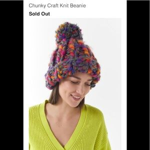 New Chunky Craft knit beanie